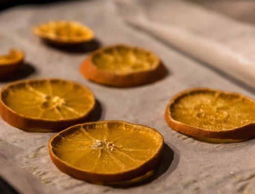arance essiccate homemade