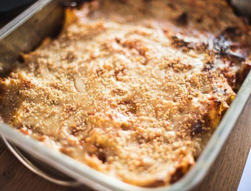 pasta al forno vegan