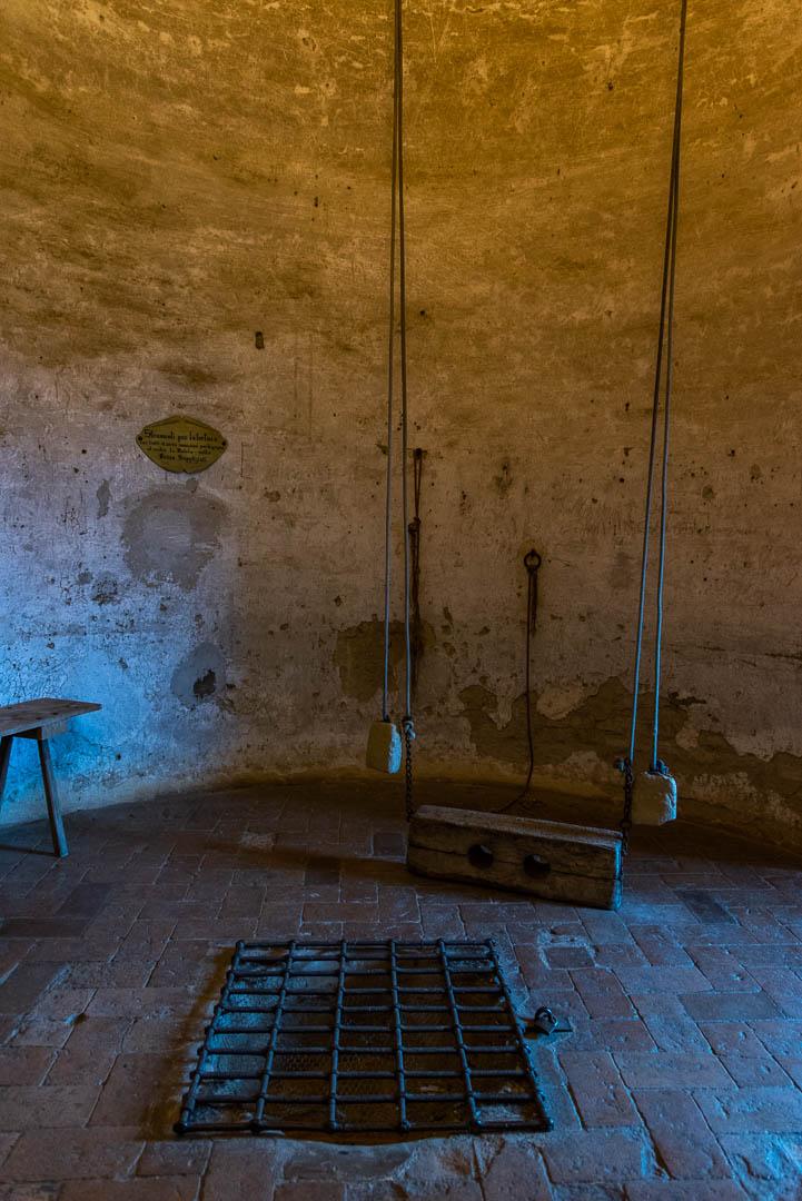 La sala delle torture