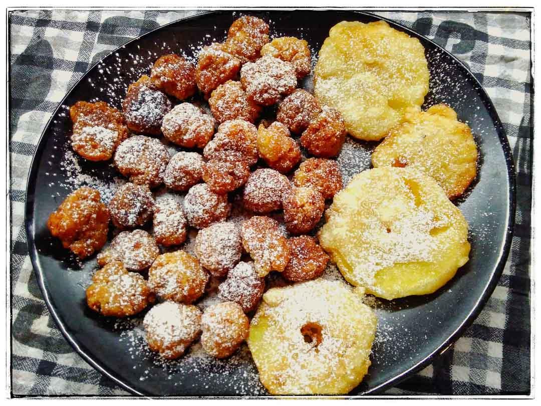 Castagnole e frittelle di mela