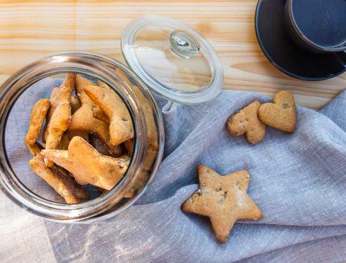 Cookies arance e noci