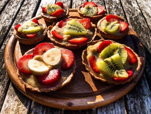 crostatine veg alla frutta