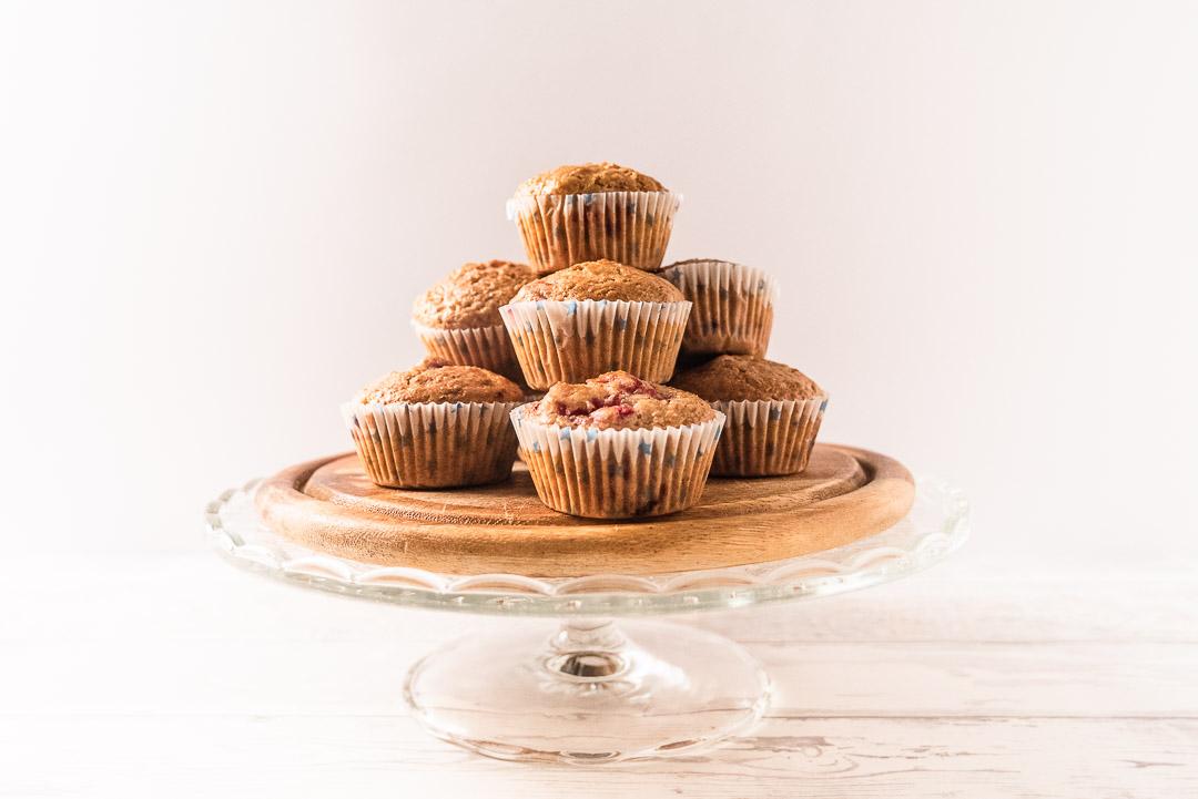 muffin veg ai lamponi