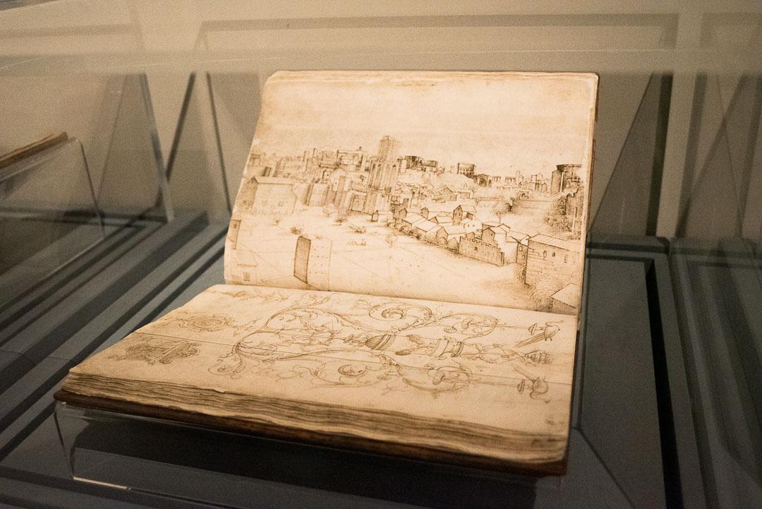 Quaderno degli schizzi di Raffaello