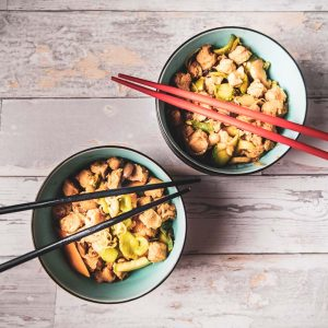 vegan chop suey