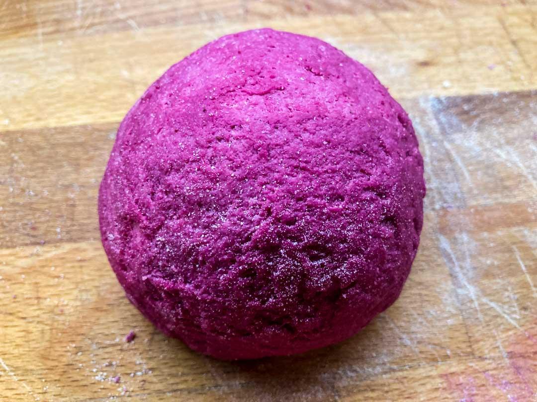 impasto pasta rosa