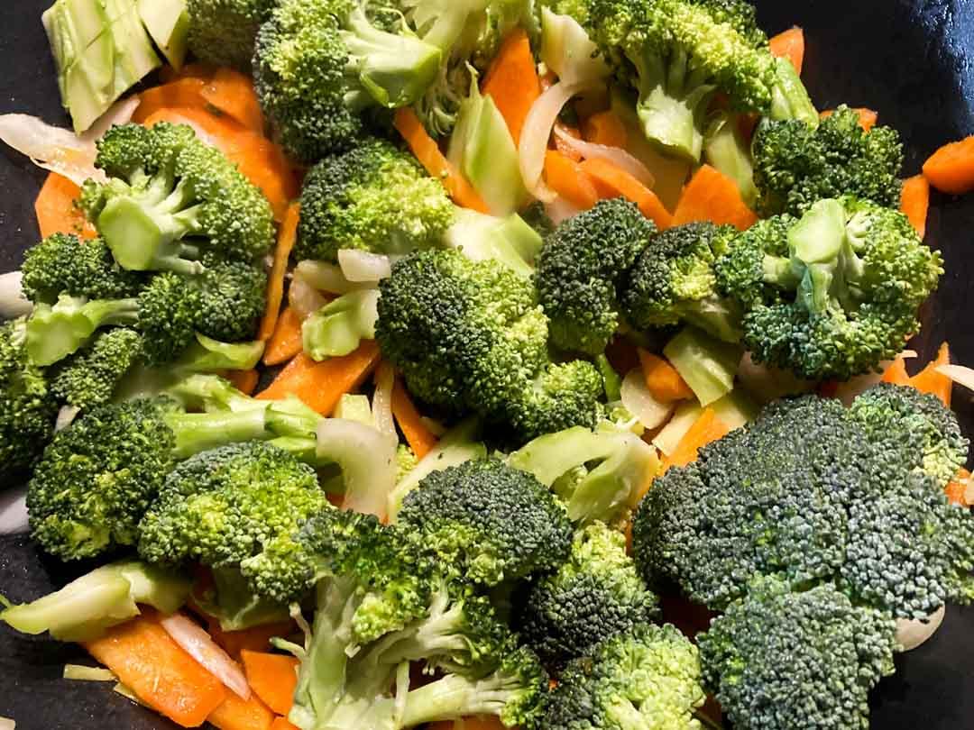 broccoli all'orientale
