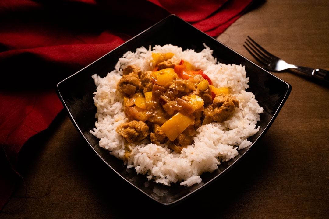 curry di peperoni